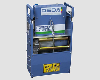 Geda Fixlift 250 roofers inclined elevator 14,0m Set