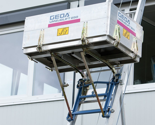 Geda Moving Lift 250 Comfort 18.3m, Möbellift