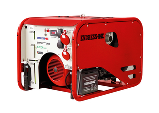 Endress gasoline generator ESE 1006 DHG-GT ES ISO DUPLEX with E-Start, including battery