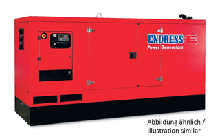Endress Diesel generator ESE 95 PW / AS - Stage 3A AS long as stocks last with electric start, including battery